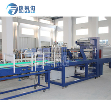 Automatic Linear Type Bottle PE film Shrink Wrapper Packing Machine with Heating Shrink Tunnel