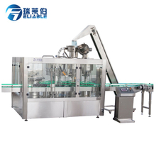 4000BPH Auomatic Glass Bottle Washing Filling Capping 4 In1 Machine for Liquipr Beer Juice Wine
