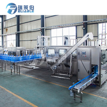 600BPH Automatic 3 & 5 Gallon Barrel Water Filling Machine / Jar Water Filling Production Line